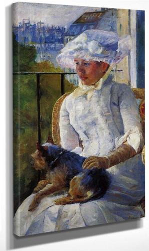 Young Girl At A Window By Mary Cassatt By Mary Cassatt