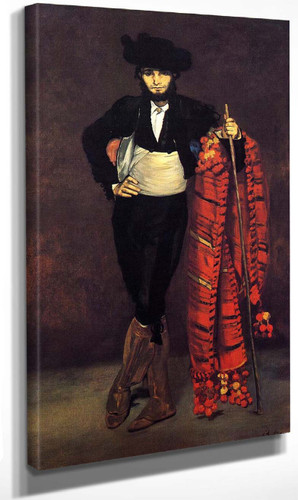 Young Man In The Costume Of A Majo By Edouard Manet By Edouard Manet