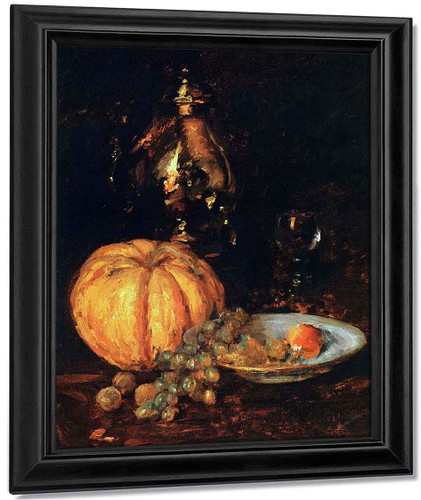 A Belgian Melon By William Merritt Chase By William Merritt Chase