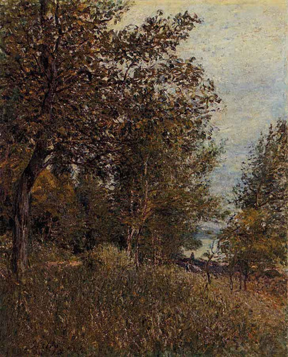 A Corner Of The Roches Courtaut Woods, June By Alfred Sisley
