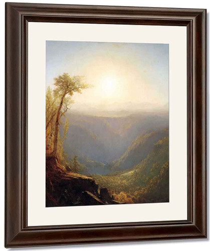 A Gorge In The Mountains By Sanford Robinson Gifford By Sanford Robinson Gifford