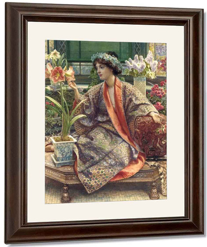 A Hot House Flower By Sir Edward John Poynter