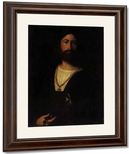 A Knight Of Malta By Titian