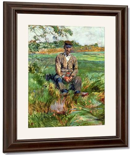 A Laborer At Celeyran By Henri De Toulouse Lautrec