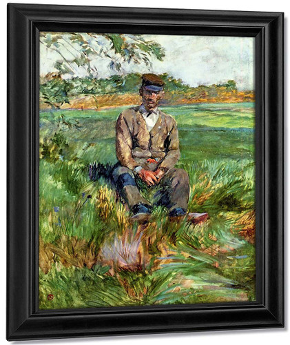 A Laborer At Celeyran By Henri De Toulouse Lautrec