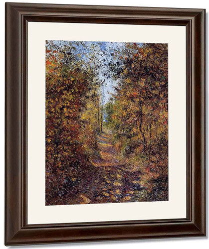 A Path In The Woods, Pontoise By Camille Pissarro By Camille Pissarro