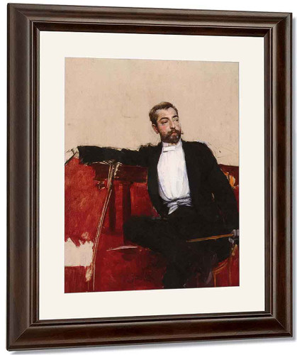 A Portrait Of John Singer Sargent By Giovanni Boldini By Giovanni Boldini