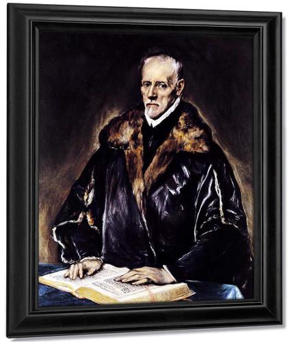 A Prelate By El Greco By El Greco