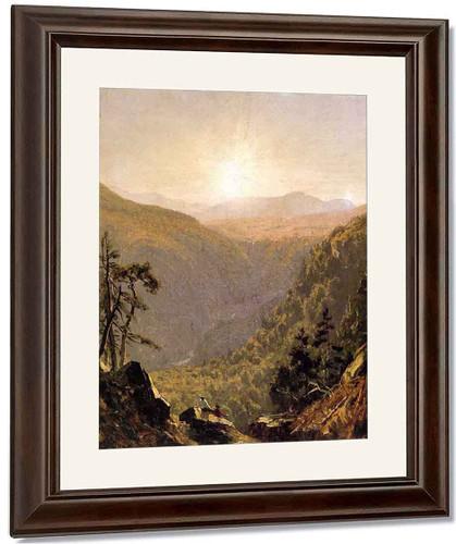 A Sketch In Kauterskill Clove By Sanford Robinson Gifford By Sanford Robinson Gifford
