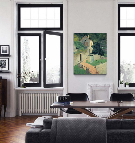 A Vallon Landscape By Felix Vallotton