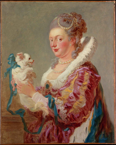 A Woman With A Dog By Jean Honore Fragonard By Jean Honore Fragonard
