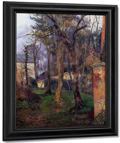 Abandoned Garden, Rouen By Paul Gauguin By Paul Gauguin
