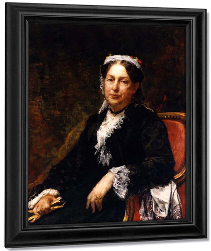 Abigail Brooks Adams By William Morris Hunt By William Morris Hunt