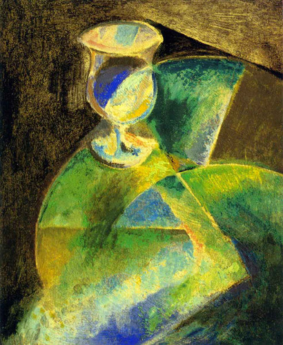 Abstract Still Life By Alfred Henry Maurer By Alfred Henry Maurer