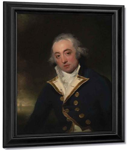 Admiral John Markham By Sir Thomas Lawrence