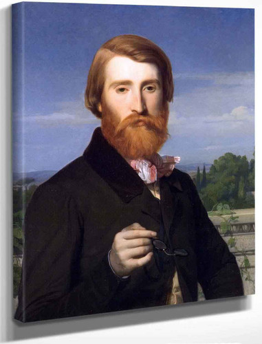 Alfred Bruyas By Alexandre Cabanel