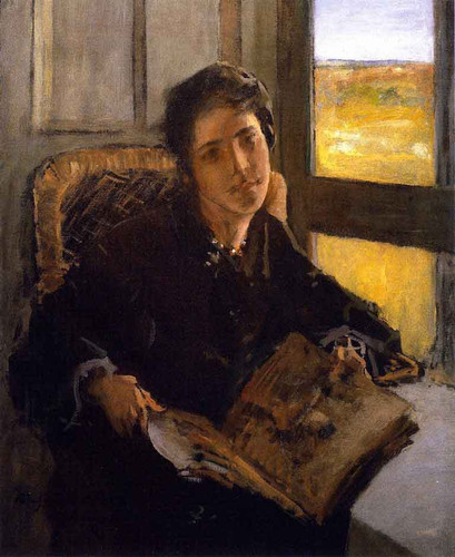 Alice Dieudonnee Chase, Shinnecock Hills By William Merritt Chase By William Merritt Chase