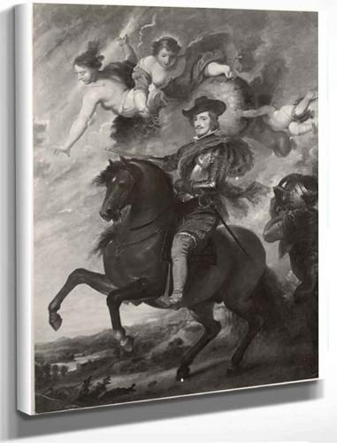 Allegorical Portrait Of Philip Iv By Diego Velazquez