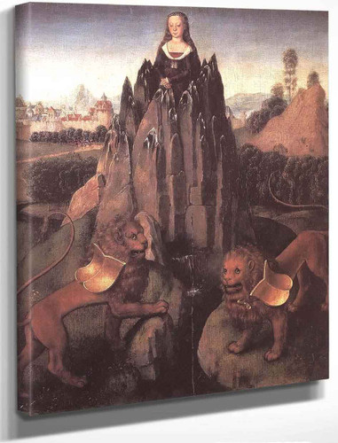 Allegory With A Virgin By Hans Memling