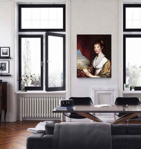 Ann Brewster Stow By Gilbert Stuart