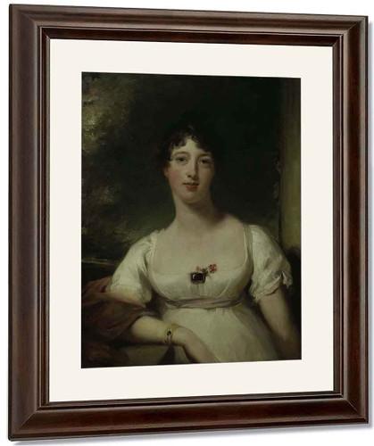 Anna Maria Dashwood By Sir Thomas Lawrence