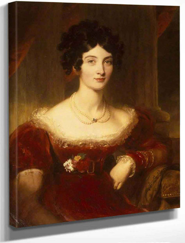 Anne Frances Bankes, Countess Of Falmouth By Sir Thomas Lawrence