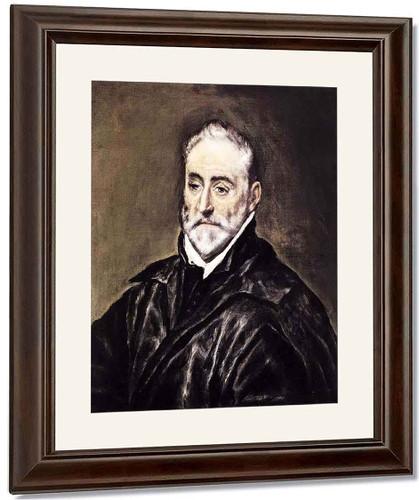 Antonio De Covarrubias By El Greco By El Greco