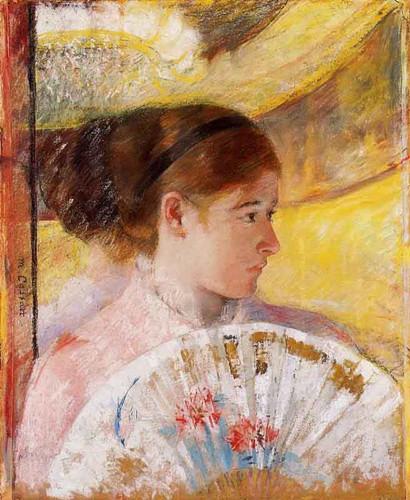 At The Theater1 By Mary Cassatt By Mary Cassatt