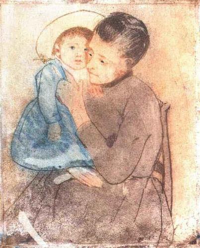 Baby Bill By Mary Cassatt By Mary Cassatt