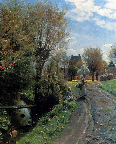 By The River, Brondbyvester By Peder Mork Monsted