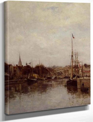 Caen, The Dock Of Saint Pierre By Stanislas Lepine
