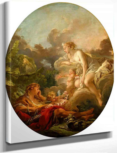 Cephalus And Aurora By Francois Boucher