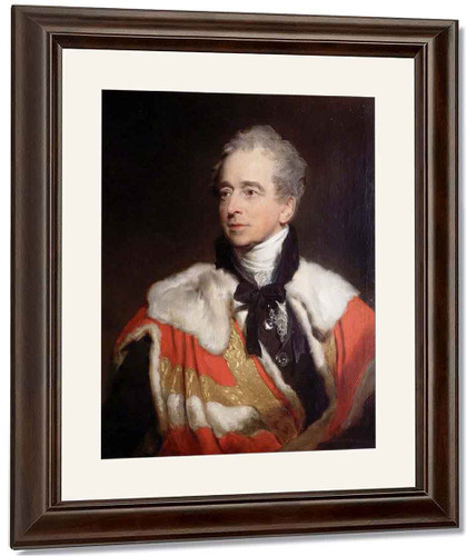 Charles Abbot, 1St Baron Colchester By Sir Thomas Lawrence