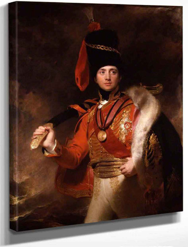 Charles William Vane Stewart, 3Rd Marquess Of Londonderry By Sir Thomas Lawrence