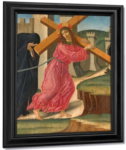 Christ Carrying The Cross By Sandro Botticelli