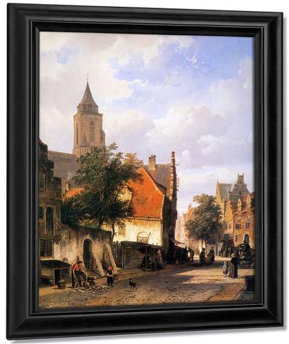 Church In Zaltbommel By Cornelius Springer
