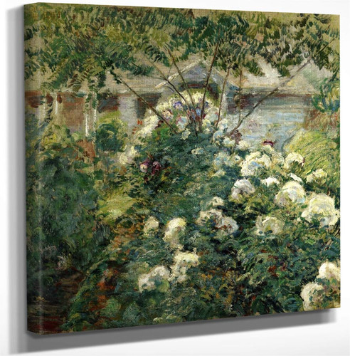 Greenwich Garden By John Twachtman Art Reproduction