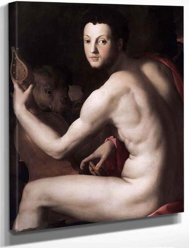 Cosimo I De' Medici As Orpheus By Agnolo Bronzino