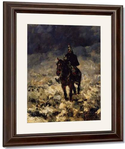 Cuirassier By Henri De Toulouse Lautrec