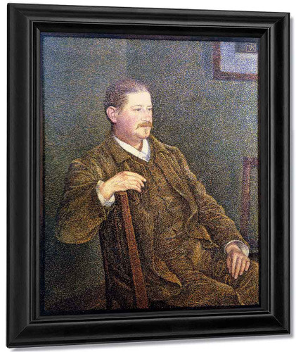 Dr August Weber By Theo Van Rysselberghe