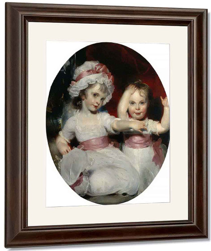 Emily And Harriet Lamb As Children By Sir Thomas Lawrence