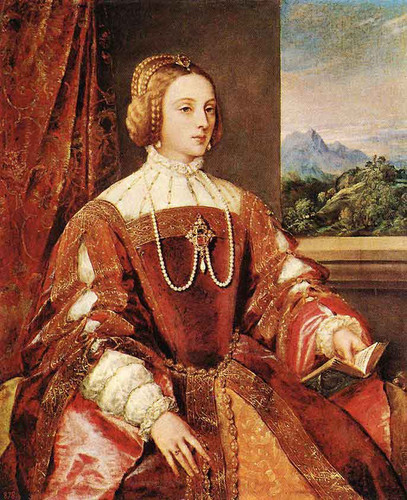 Empress Isabel Of Portugal By Titian