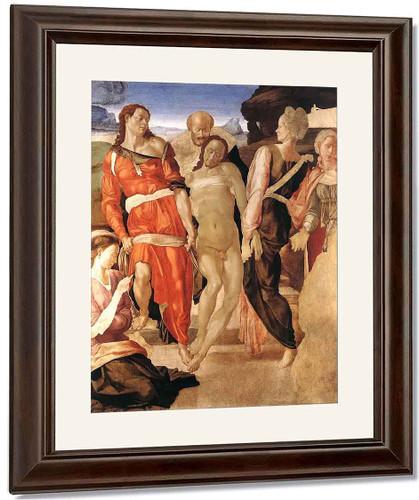 Entombment By Michelangelo Buonarroti By Michelangelo Buonarroti