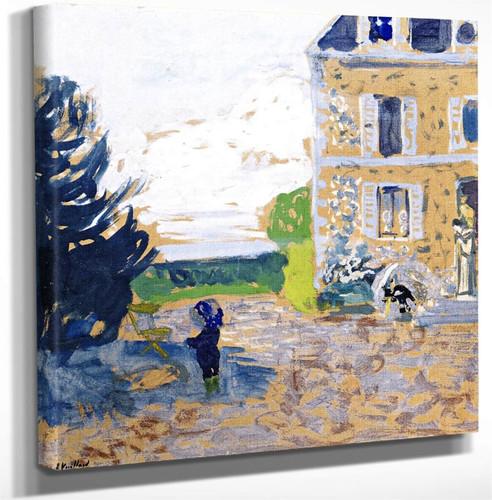 In The Garden Saint Jacut By Edouard Vuillard Art Reproduction
