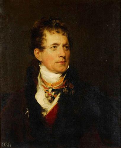 Frederick Baron Von Gentz By Sir Thomas Lawrence