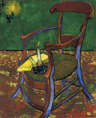 Gauguin's Chair By Vincent Van Gogh