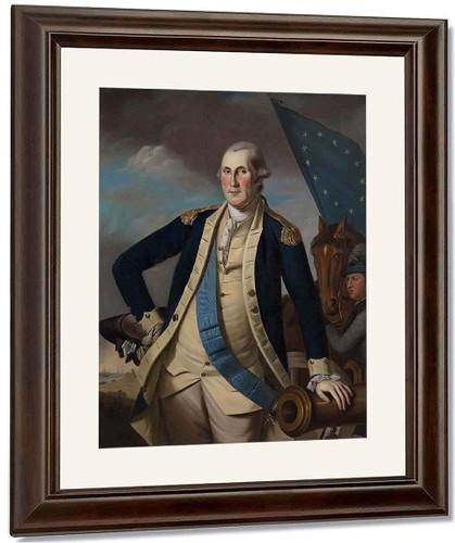 George Washington 0 By Charles Willson Peale