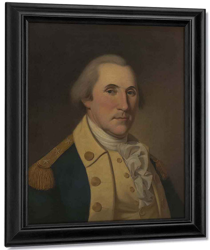 George Washington 2 By Charles Willson Peale