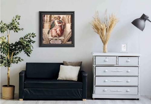 Isaiah By Michelangelo Buonarroti Art Reproduction