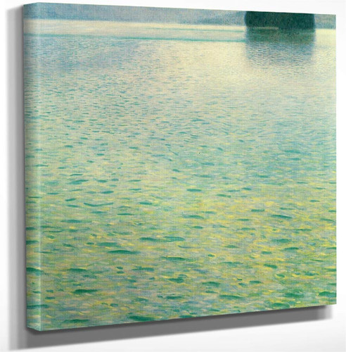 Island In The Attersee By Gustav Klimt Art Reproduction
